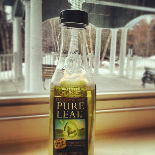 Afternoon Pick Me Up #tea #greentea #refreshing #drink