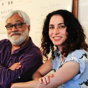 """Paulo Halm e Rosane Svartman, autores de """"Totalmente Demais"""""""