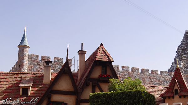Disneyland Resort, Disneyland, Fantasyland, Safety Rails
