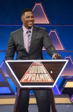 The $100,000 Pyramid - Michael Strahan