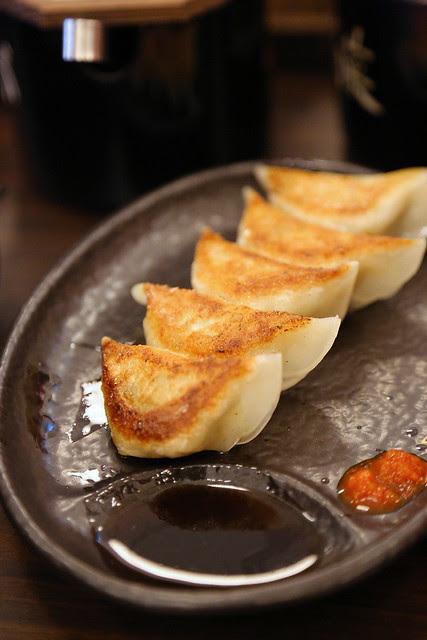 Gyoza side dish