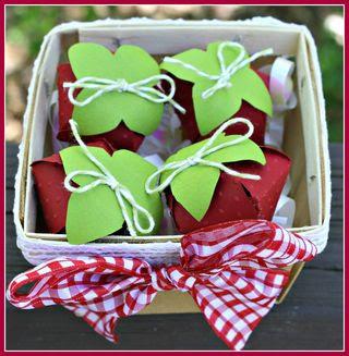 Strawberries top
