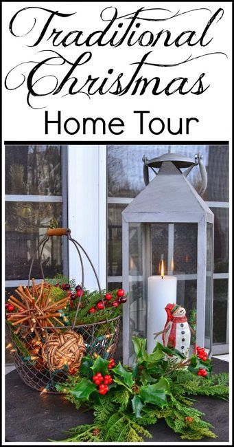 Traditional Christmas Decorating Ideas and Home Tour