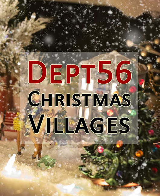 Dept 56 Christmas Snow Village Wonderland