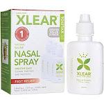 XLEAR: Xylitol Natural Saline Nasal Spray 3 Pack, 2.25 oz