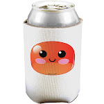Cute RPG Slime - Red Can / Bottle Insulator Coolers by TooLoud