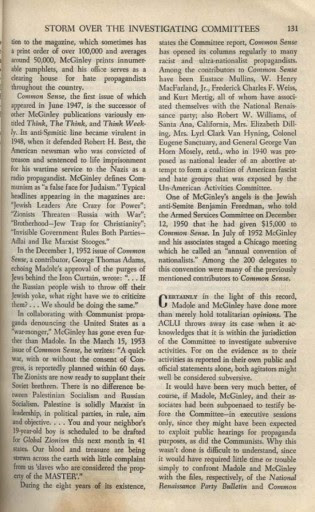 1955  Commentary article mentioning Benjamin Freedman
