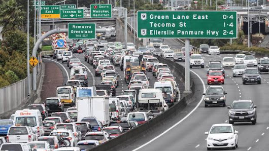 Going nowhere fast on Auckland's southern motorway