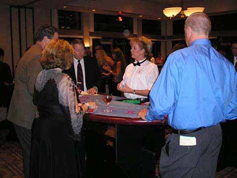 company casino party