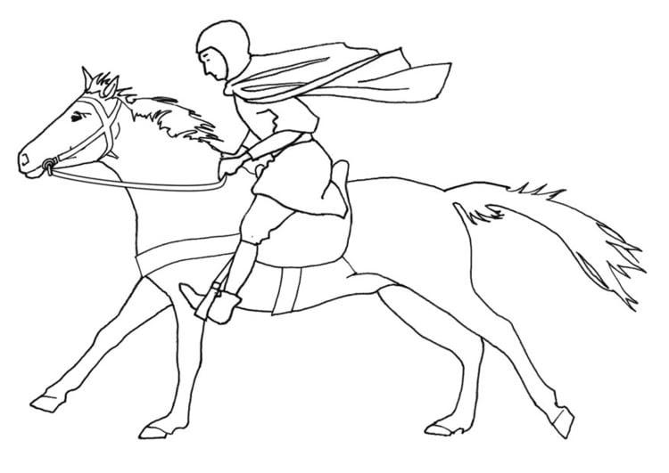 pferde ausmalbilder dressur
