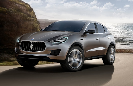 MASERATI'S FIRST SUV: THE LEVANTE