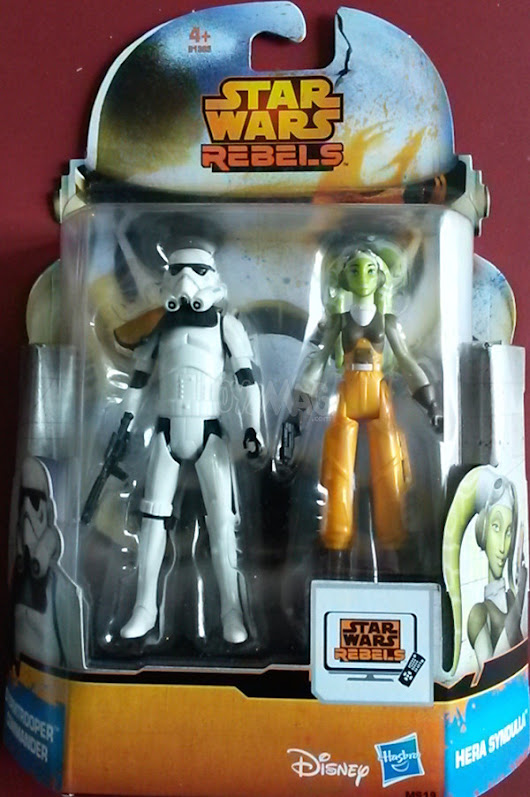 ToyzMag.com » Star Wars Rebels : Review Hera & Stormtrooper Commander (MS19)
