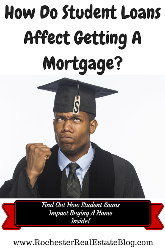 How Student Loans Affect Getting A Mortgage When Buying A Home