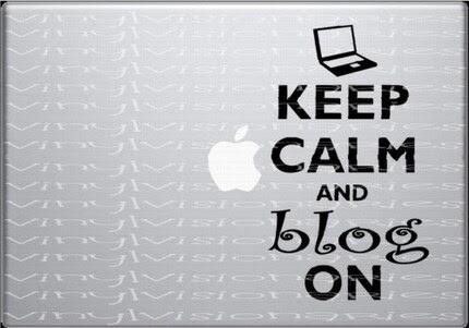 Macbook Decal WWII Inspired Keep Calm Blog On ORIGINAL Design