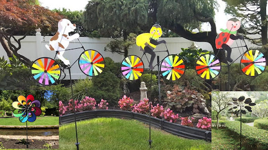 Large Pinwheels For Yard - How Does Your Garden Mow