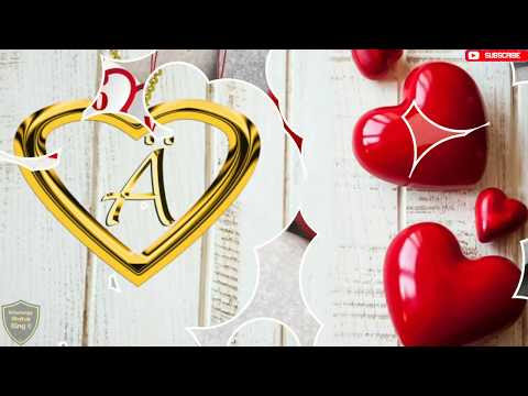 """💕 A letter Whatsapp Status 