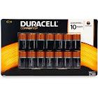 Duracell Coppertop Alkaline C Batteries - 14 count