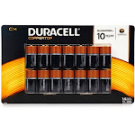 Duracell Coppertop Alkaline C Batteries - 14 count