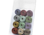 "S-lon ""Forest Mix""  Box Of 12 Sampler - WildwoodBeadCompany"