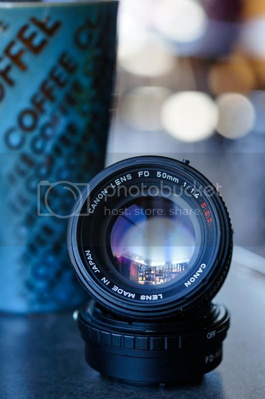 Canon FD 50mm f/1.4 SSC