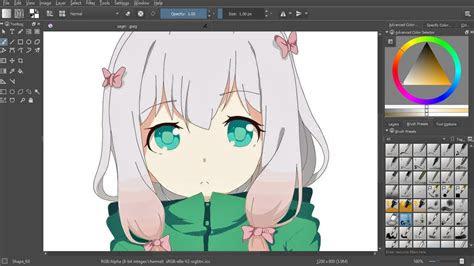 easy painting anime izumi sagiri  mouse youtube