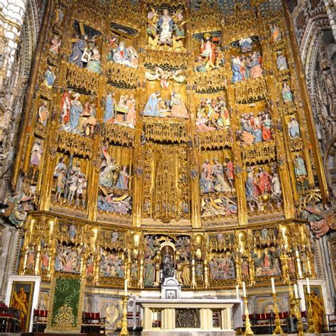 """""""HOLY TOLEDO""""   A VISIT TO THE CATHEDRAL OF TOLEDO, SPAIN"""