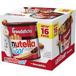 Nutella & Go Hazlenut Spread with Breadsticks Ferrero 16 Pack - 1.8 oz Each