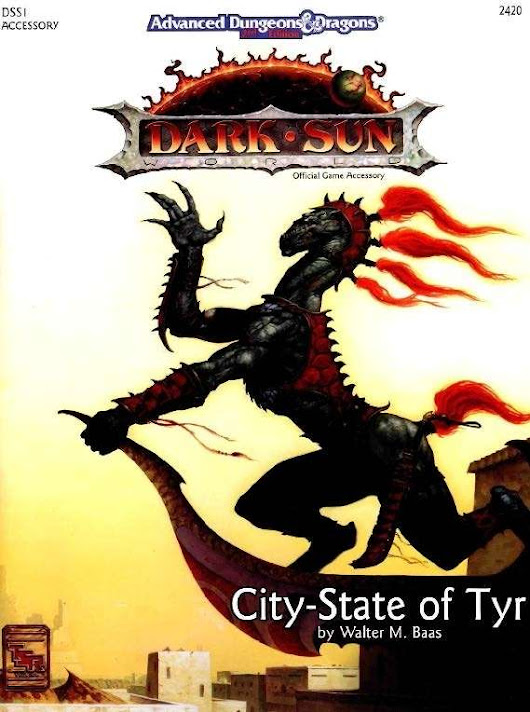 DSS1 City-State of Tyr (2e) - Wizards of the Coast |  | AD&D 2nd Ed. | Dark Sun | AD&D 2nd Ed.Dungeons & Dragons Classics