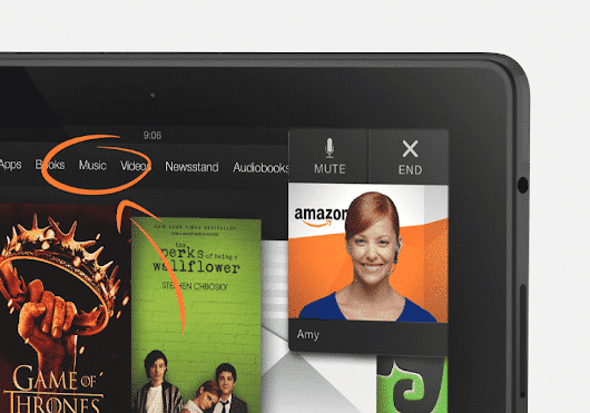 Amazon Discontinues Mayday on the Fire Tablet