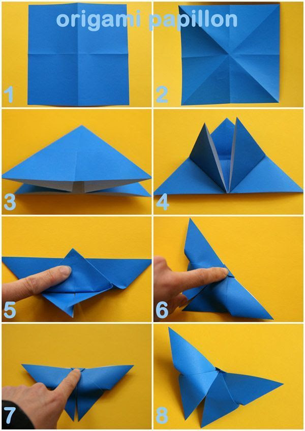 Beautiful Origami Mural Papillon Photos - House Design - marcomilone.com
