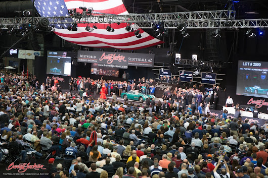 Historic Highs For The 44Th Annual Barrett Jackson Scottsdale Auction- Barrett-Jackson Auction Company