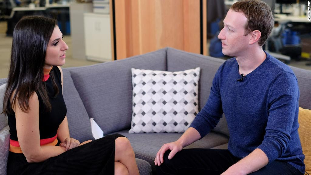 Zuckerberg on data debacle: 'It was a breach of trust'