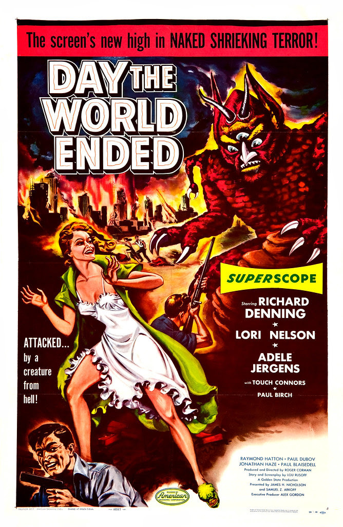 Albert Kallis - Day the World Ended (American Releasing Corp., 1956) One Sheet
