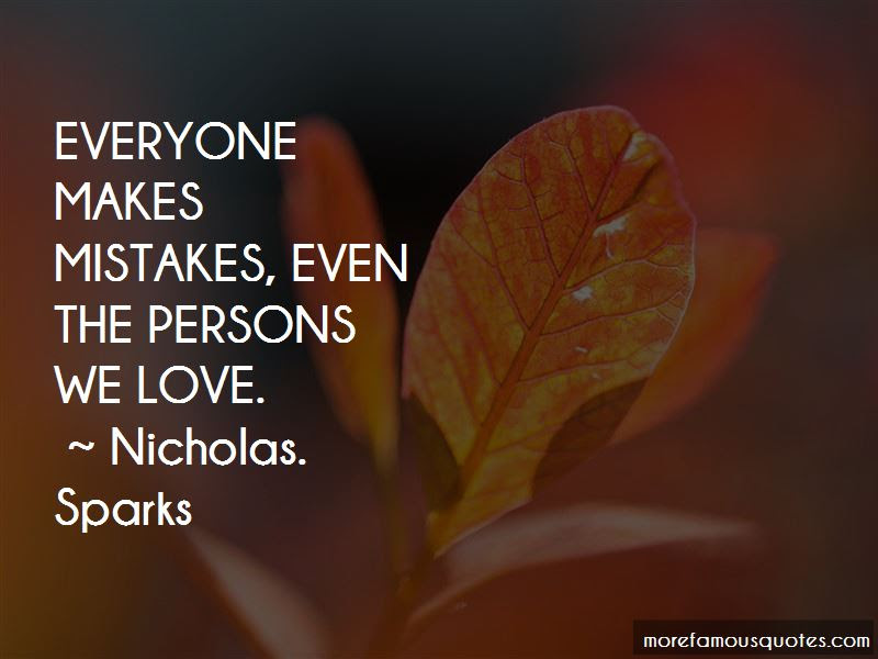 Everyone Makes Mistakes Love Quotes Top 6 Quotes About Everyone