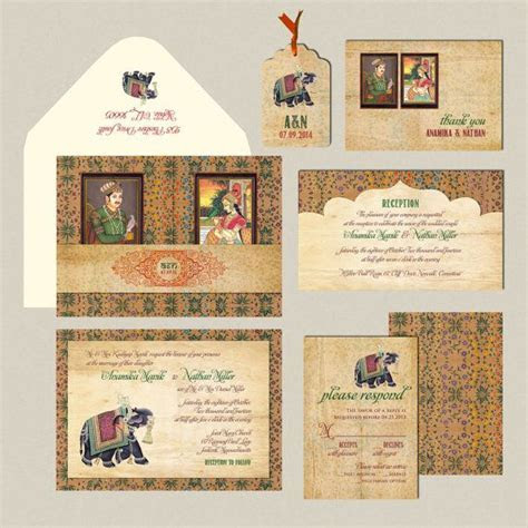 81 best creative indian wedding cards images on Pinterest