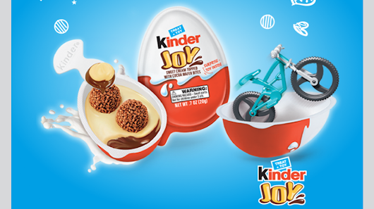 The Once Banned Kinder Eggs are Coming to the US