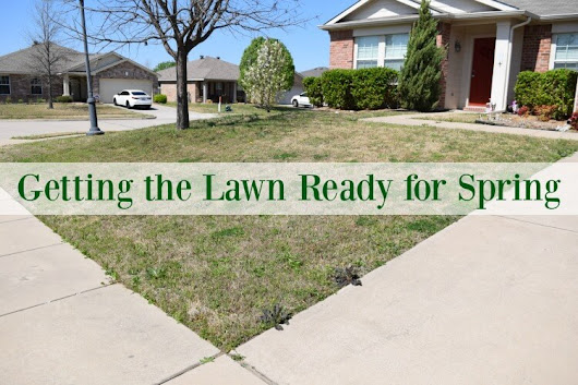 Getting the Lawn Ready for Spring | The TipToe Fairy