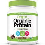 Orgain Organic Protein Protein Powder, Creamy Chocolate Fudge - 1.02 lbs (462 g)