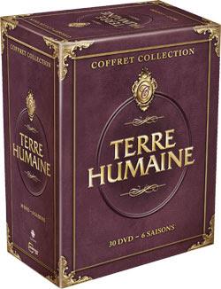 DVD Terre humaine, série complète, coffret