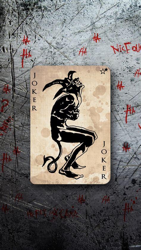 joker card wallpaper  iphone