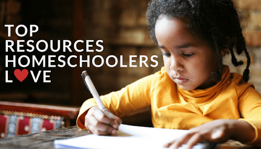 Top Homeschool Resources - Natural Parent Guide