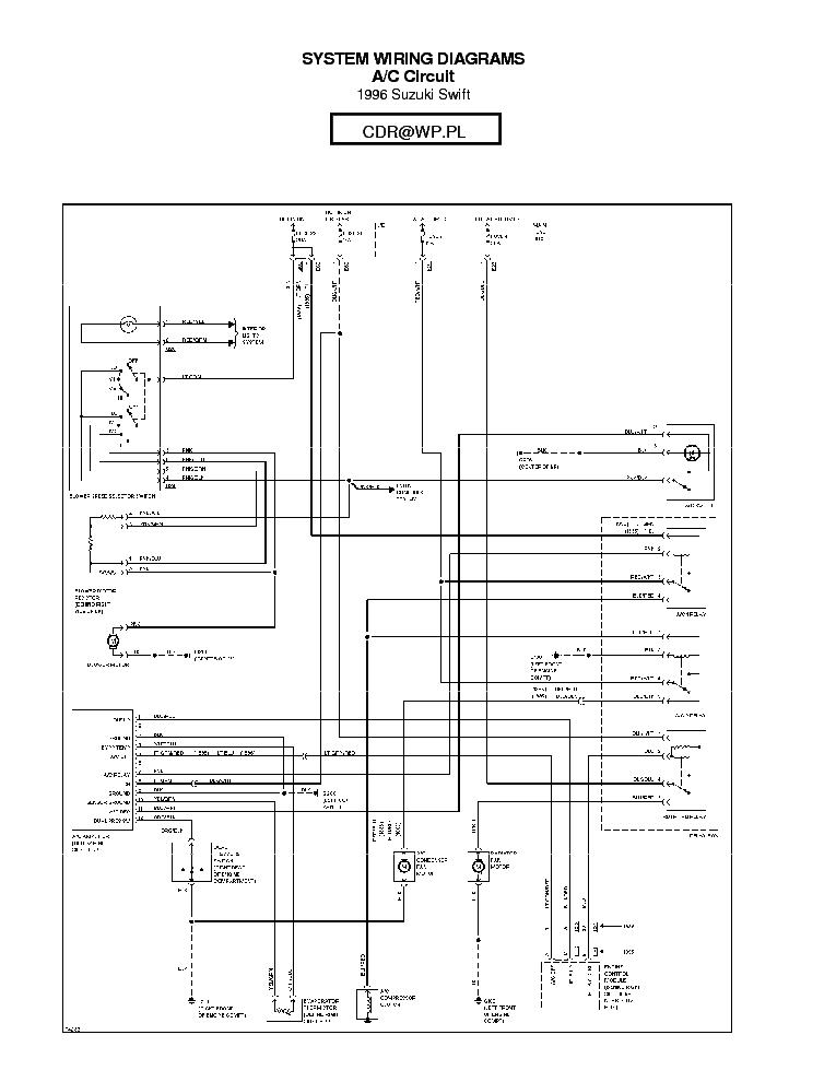 1997 suzuki sidekick wiring diagram  center wiring diagram