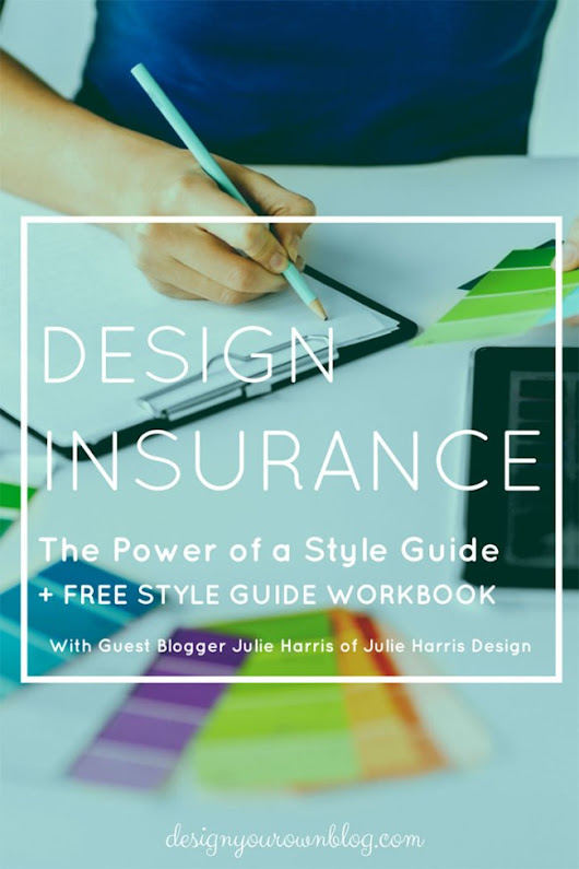 Design Insurance: The Power of a Style Guide