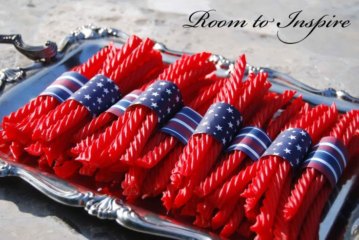 4th of July - twizzlers!