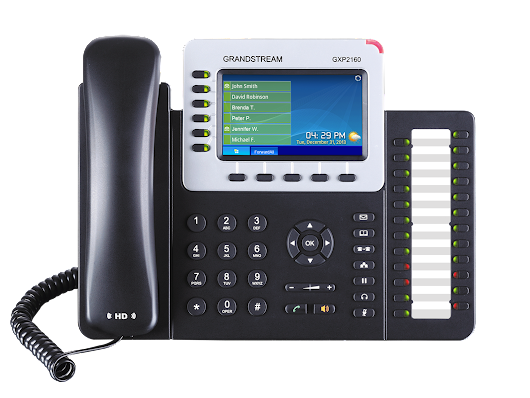 Grandstream GXP2160- Convenient business telephone
