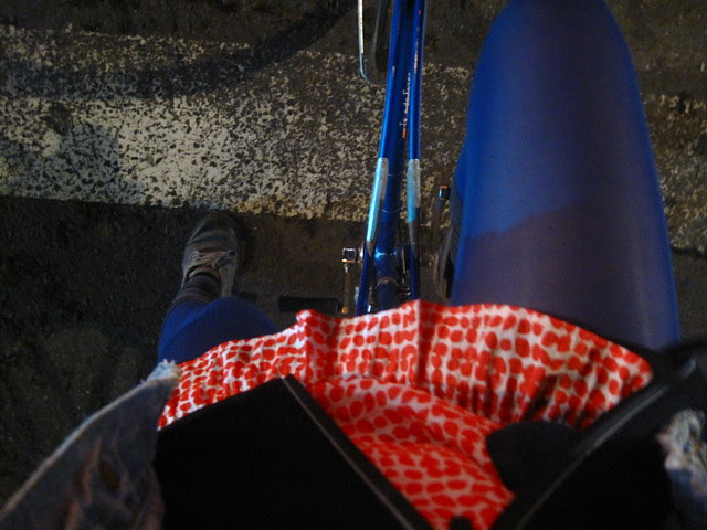 Riding again.