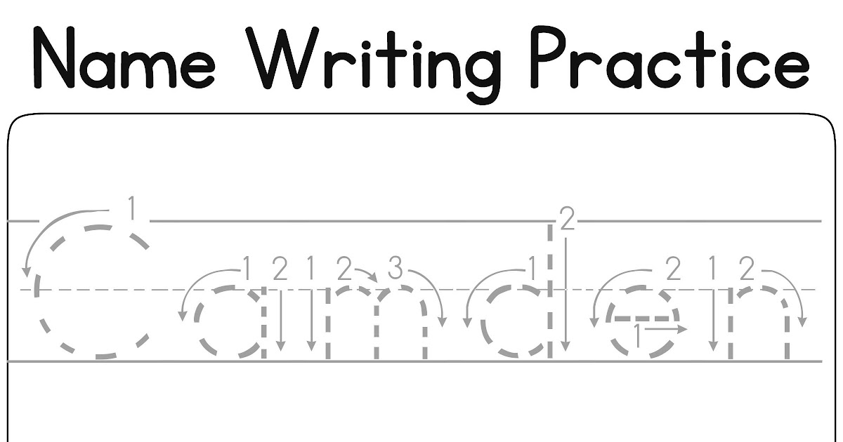 Printable Name Tracing Worksheets Pdf - Coloring pages
