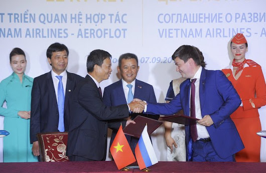 Aeroflot and Vietnam Airlines sign strategic cooperation memorandum - Russian aviation news