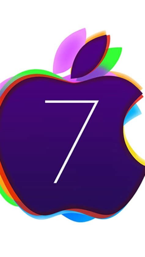 colored ios  apple logo wallpaper  iphone wallpapers