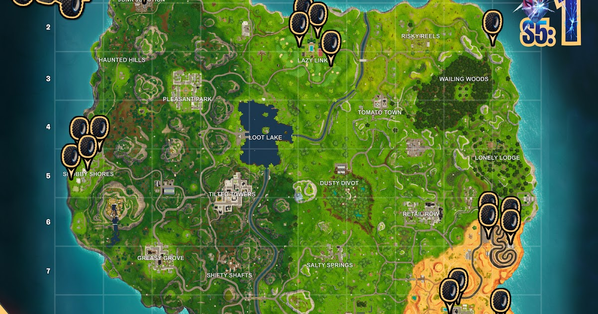 Atk Fortnite Locations | How To Get Free V Bucks Epic Games